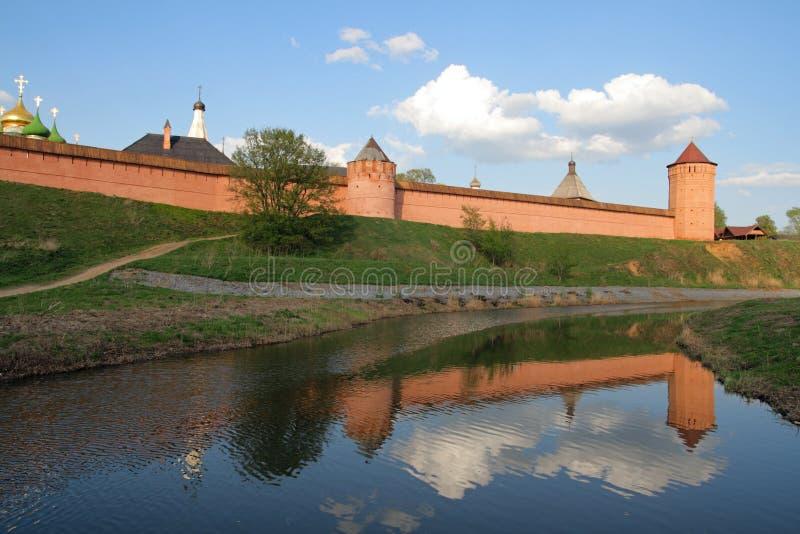 Klooster van Heilige Euthymius, Rusland royalty-vrije stock afbeeldingen