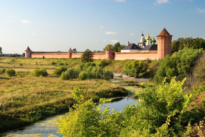 Klooster van Heilige Euthymius (Suzdal) royalty-vrije stock afbeeldingen