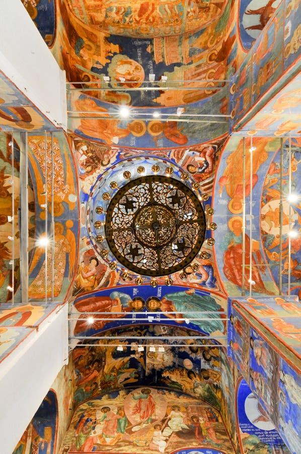 Klooster van Heilige Euthymius - Suzdal, Rusland royalty-vrije stock foto's