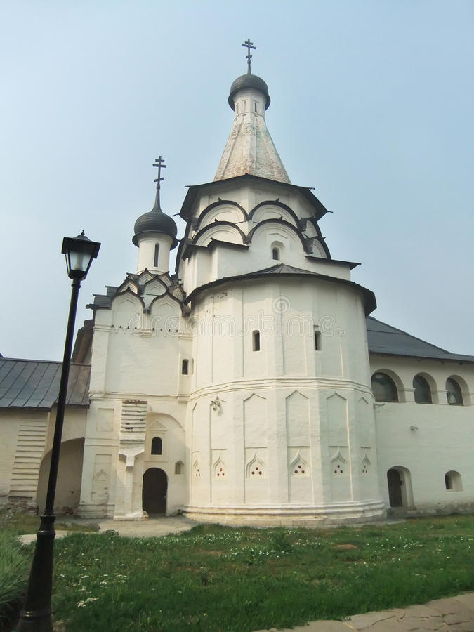 Klooster van Heilige Euthymius, Suzdal, Rusland stock foto