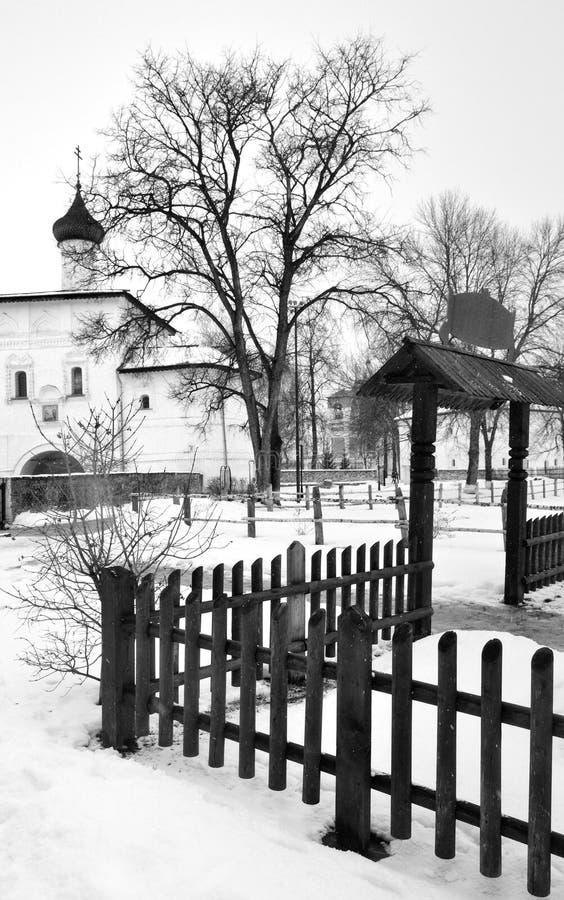 Klooster van Heilige Euthymius in Suzdal Rusland stock fotografie