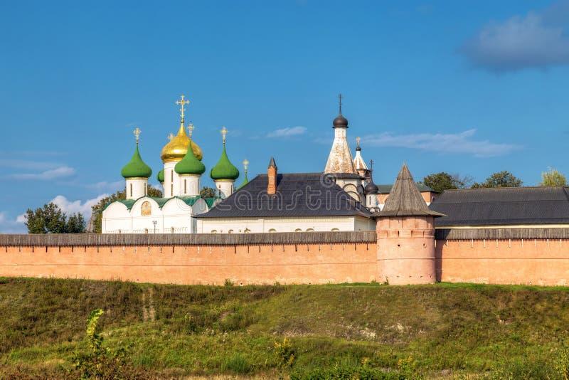 Klooster van Heilige Euthymius Suzdal, Rusland royalty-vrije stock afbeelding