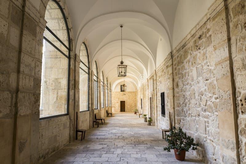 Klooster van La Santa Espina, Spanje stock afbeelding