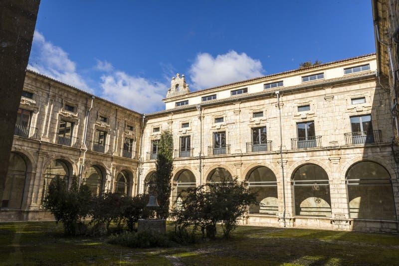 Klooster van La Santa Espina, Spanje stock fotografie
