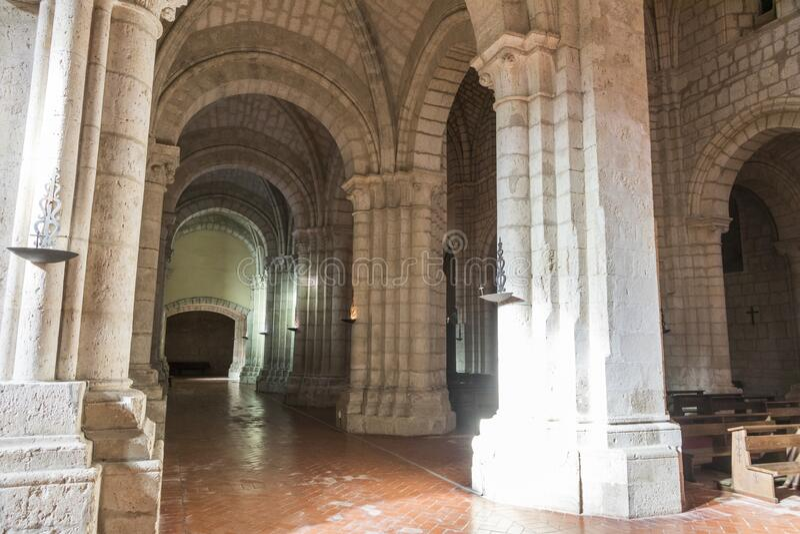 Klooster van La Santa Espina, Spanje royalty-vrije stock afbeelding
