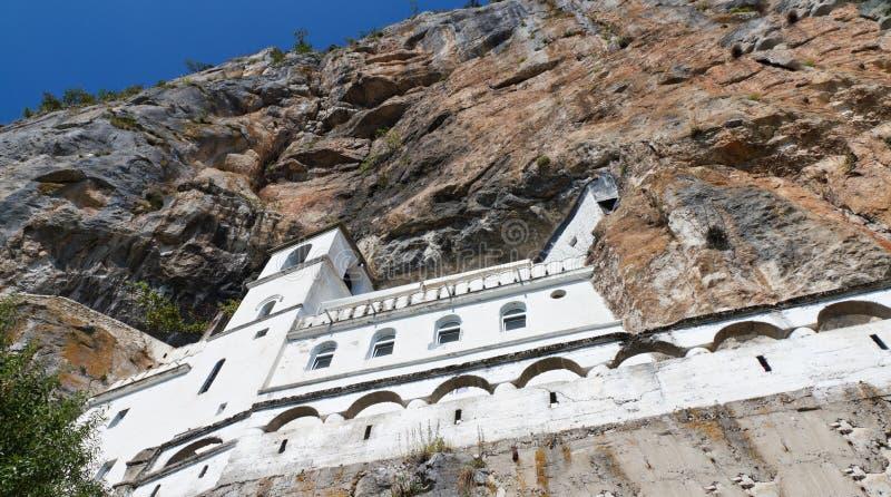 Klooster van Ostrog, Montenegro royalty-vrije stock afbeeldingen