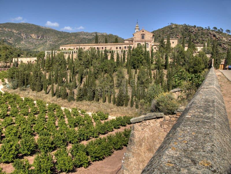 Klooster van Portaceli royalty-vrije stock foto