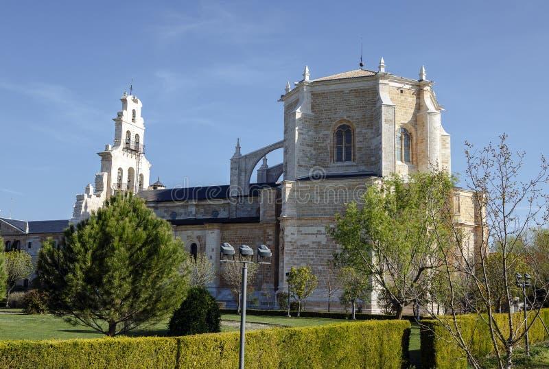 Klooster van Santa Maria de la Vid stock foto's