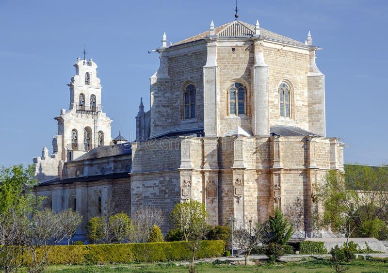 Klooster van Santa Maria de la Vid stock foto