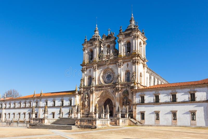 Mosteiro DE Santa Maria, Alcobaca, Portugal stock fotografie