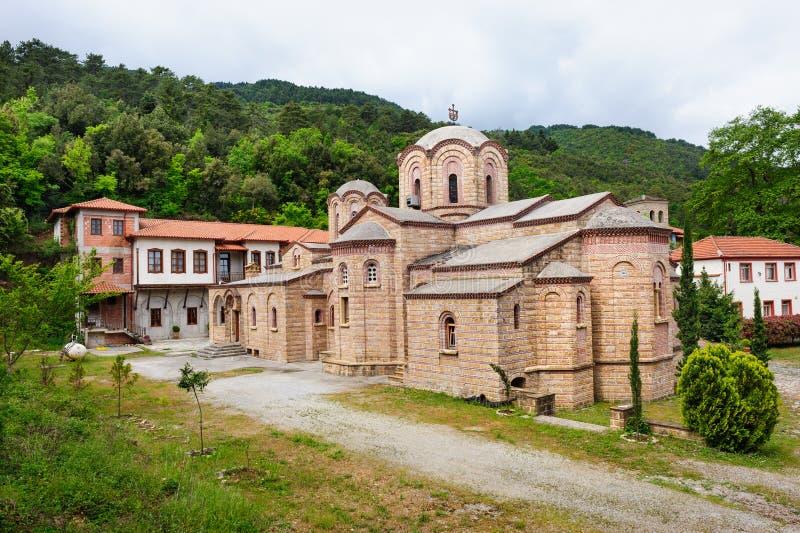 Klooster van St Dionysios royalty-vrije stock afbeelding