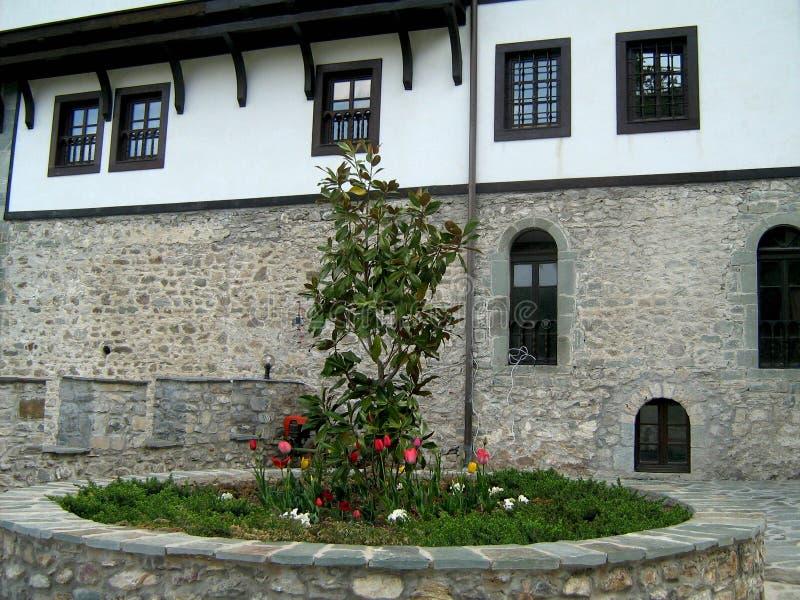 Klooster van St John Doopsgezind, Macedonië royalty-vrije stock foto's