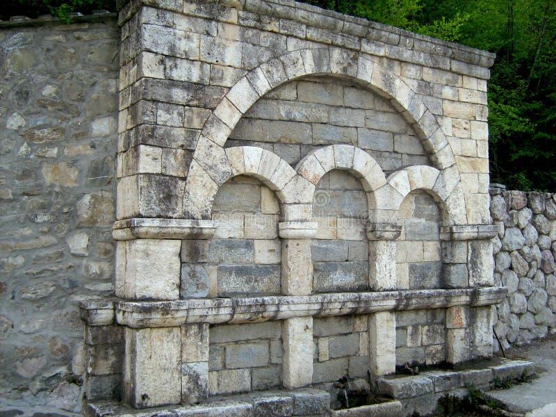 Klooster van St John Doopsgezind, Macedonië stock fotografie