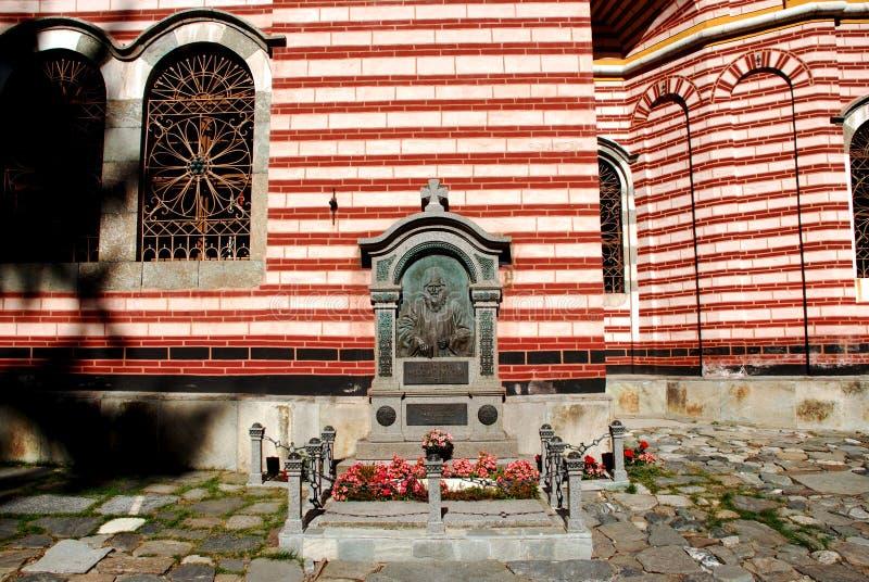 Klooster van St John Rilski, Rila-Berg, Bulgarije stock fotografie