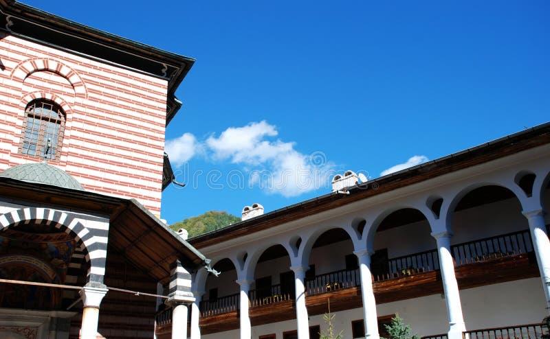 Klooster van St John van Rila stock fotografie