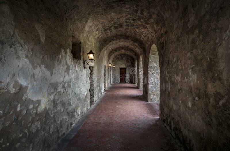 Kloosterklooster bij Opdracht Concepción stock afbeeldingen