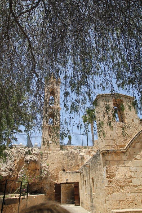 Kloster Agia Napa stockbilder