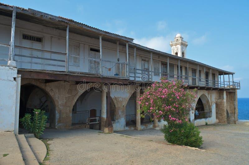 Kloster Apostolos-Andreas stockbilder