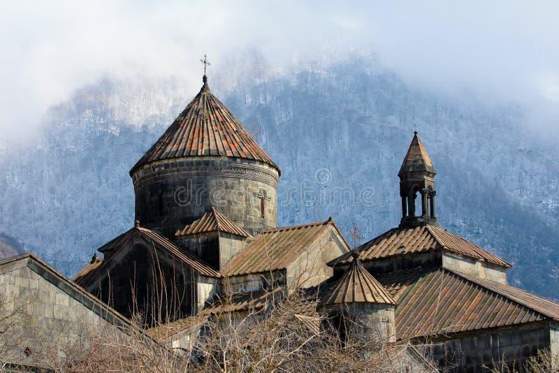 Kloster Armenien royaltyfri fotografi