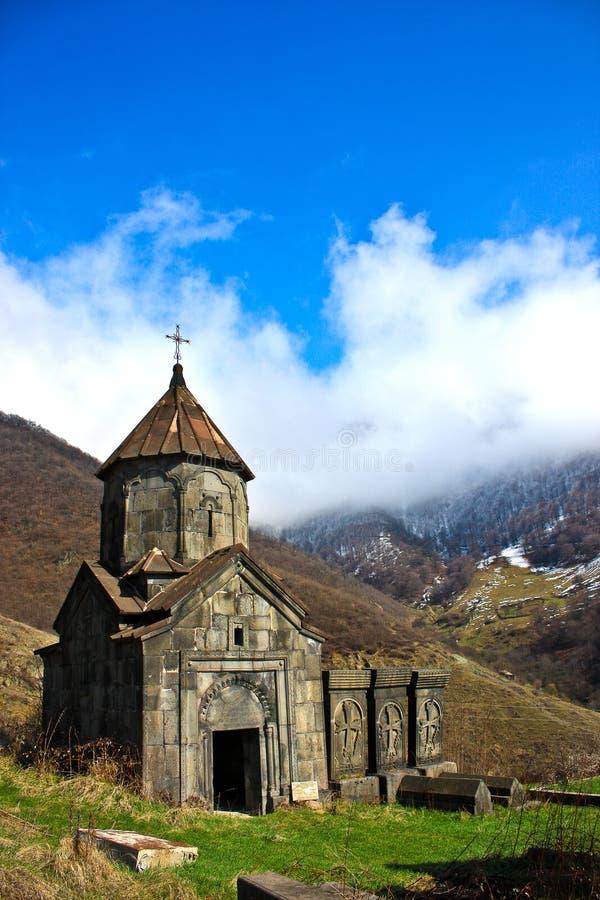 Kloster Armenien arkivbilder