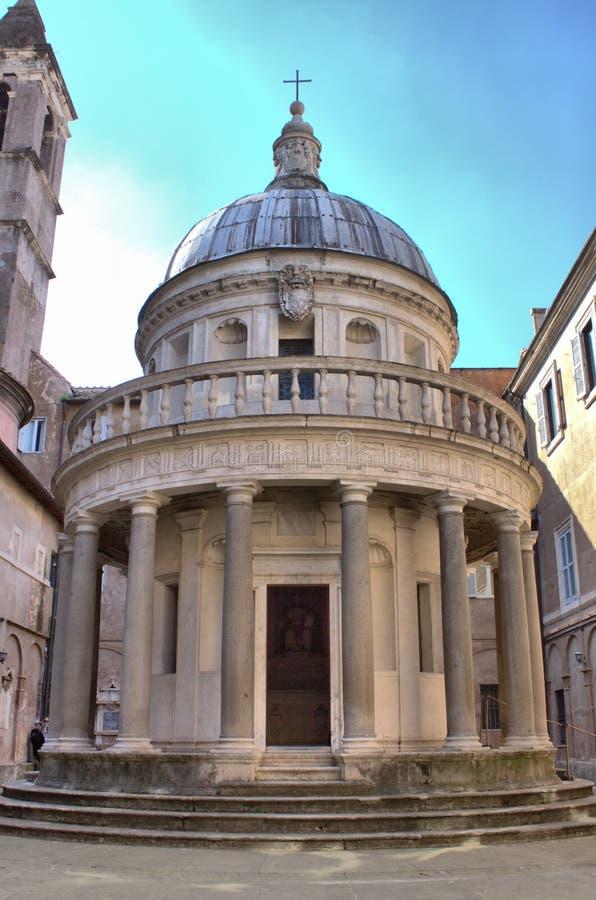 Kloster av Bramante i Rome royaltyfri bild