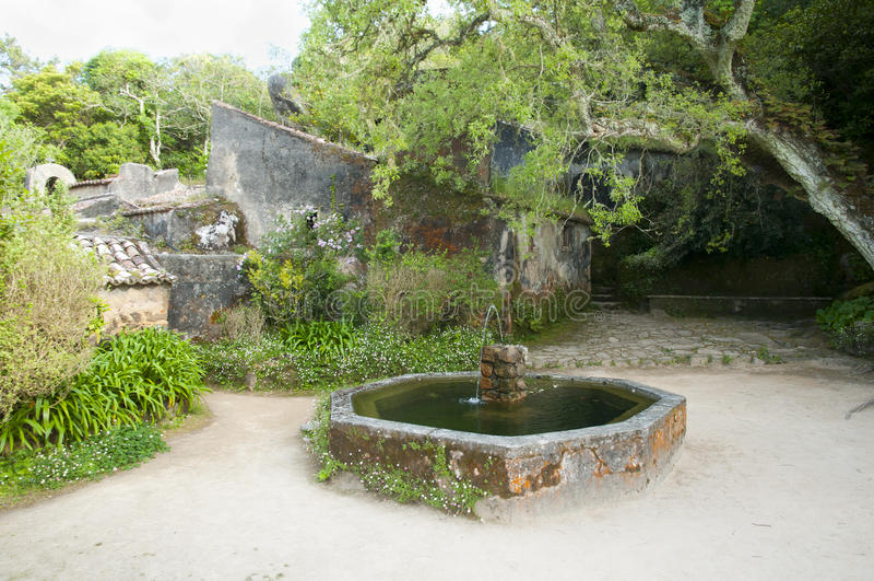 Kloster av Capuchosen - Sintraen arkivbilder