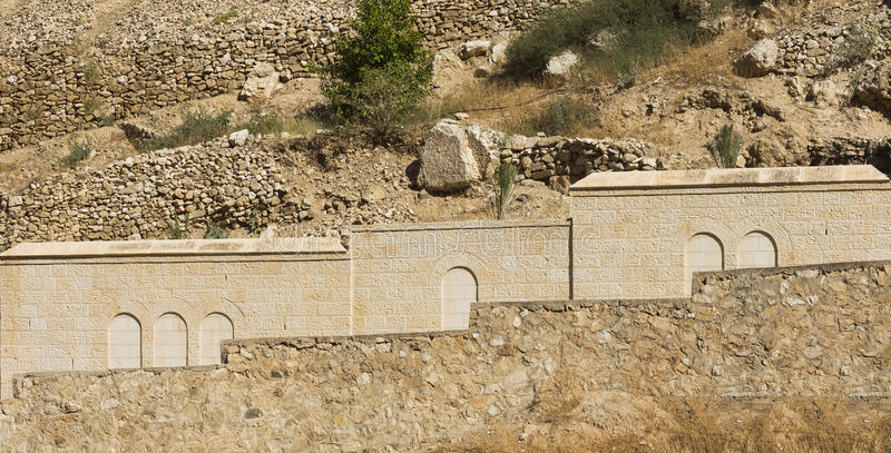 Kloster av det St George staketet royaltyfria foton