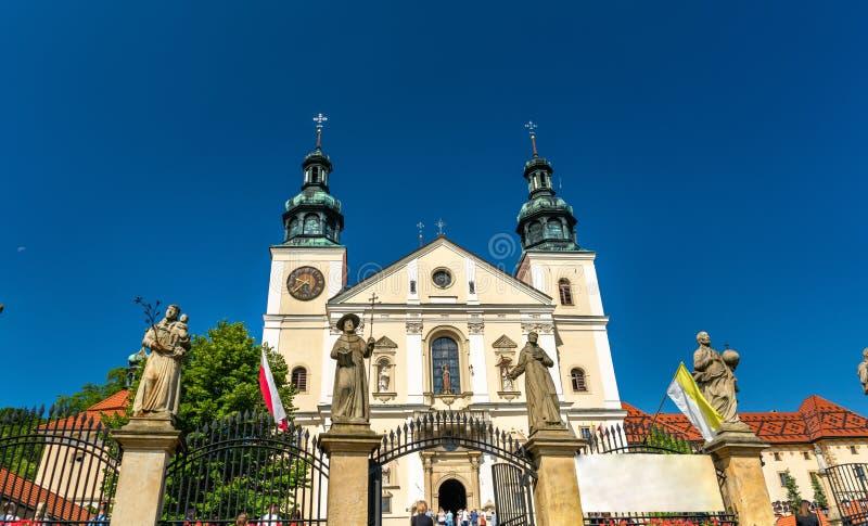 Kloster av Kalwaria Zebrzydowska, en UNESCOvärldsarv i Polen arkivfoto