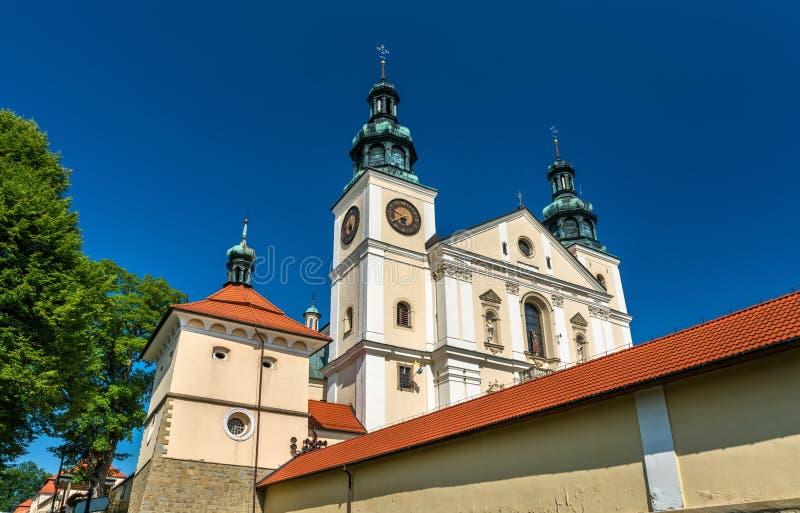 Kloster av Kalwaria Zebrzydowska, en UNESCOvärldsarv i Polen royaltyfri bild