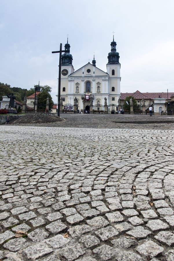 Kloster av Kalwaria Zebrzydowska och UNESCOvärldsheritaen fotografering för bildbyråer