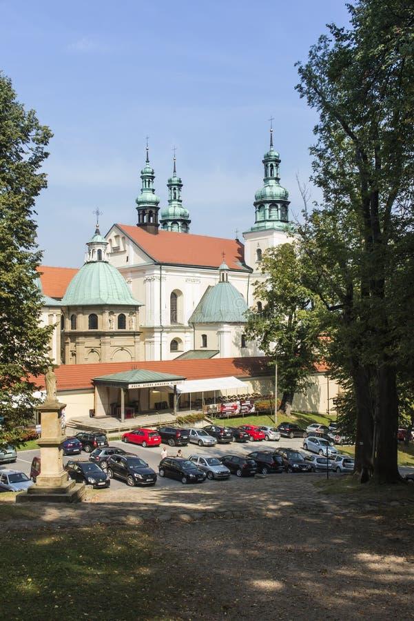 Kloster av Kalwaria Zebrzydowska och UNESCOvärldsheritaen arkivbild