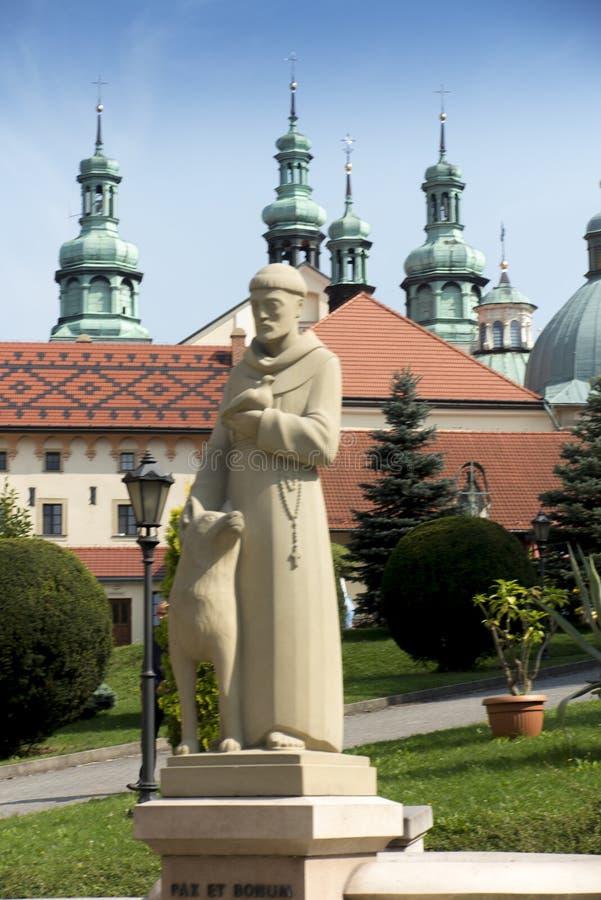 Kloster av Kalwaria Zebrzydowska och UNESCOvärldsheritagen arkivbild