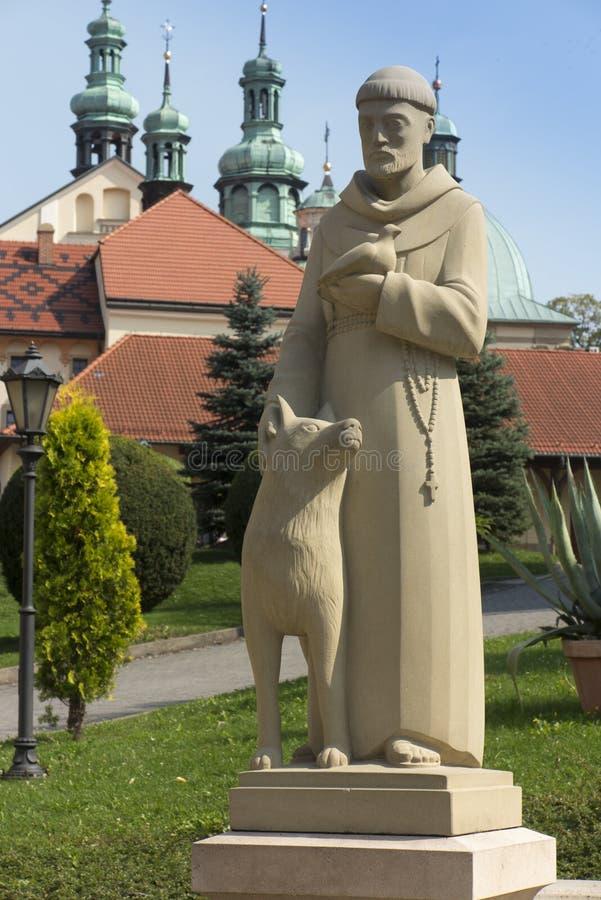 Kloster av Kalwaria Zebrzydowska och UNESCOvärldsheritagen royaltyfri foto