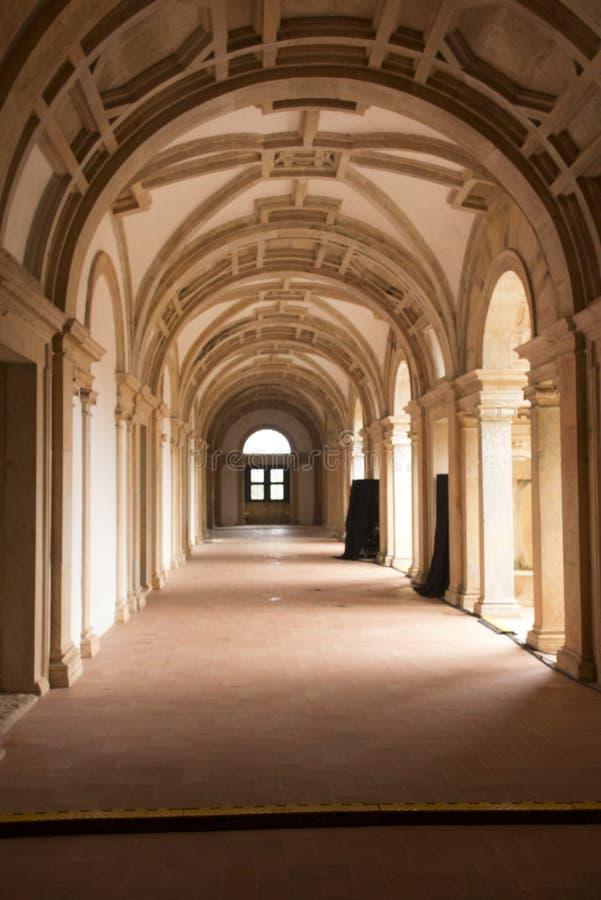 Kloster av Kristus är en tidigare romare - katolsk kloster in till arkivbild