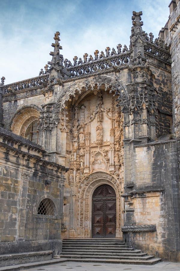 Kloster av Kristus i Tomar, Portugal fotografering för bildbyråer