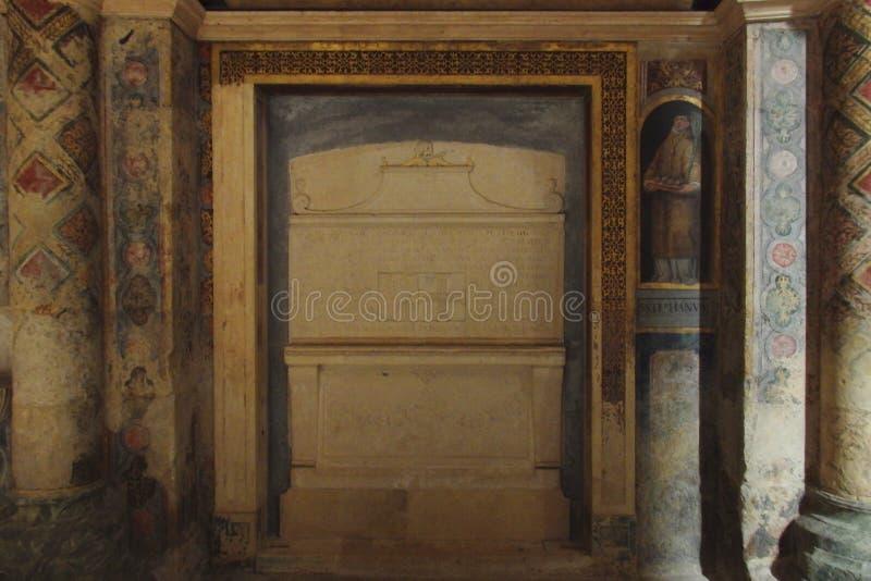 Kloster av Kristus Tomar Portugal arkivbild