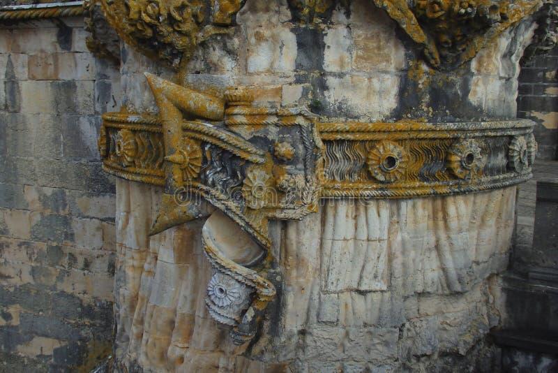 Kloster av Kristus Tomar Portugal royaltyfria bilder