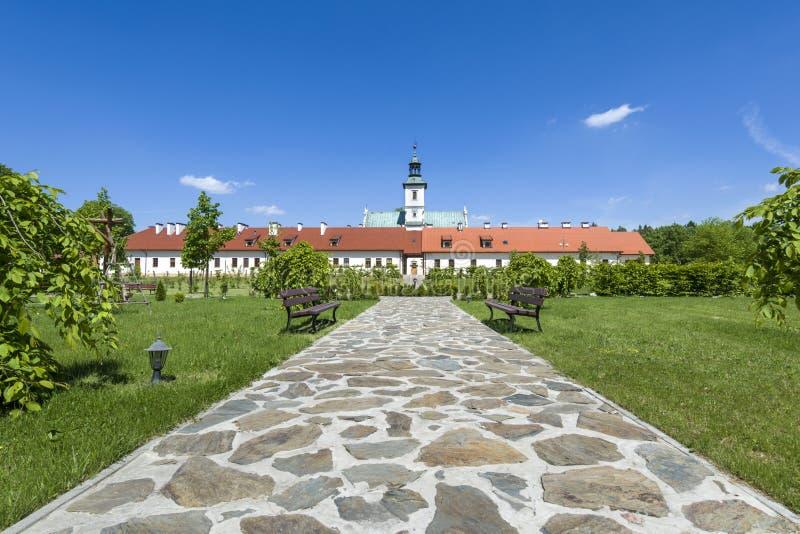 Kloster av Rytwiany, Polen royaltyfri bild