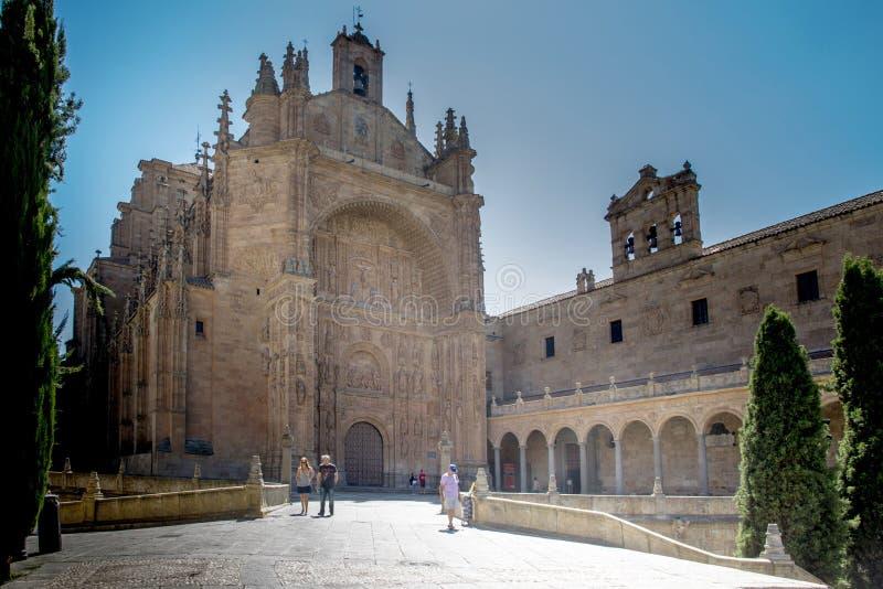 Kloster av San Esteban arkivfoton