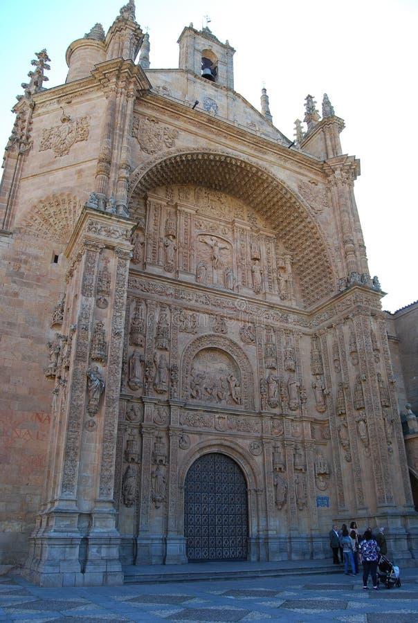 Kloster av San Esteban arkivbilder