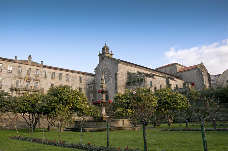 Kloster av San Francisco royaltyfria bilder