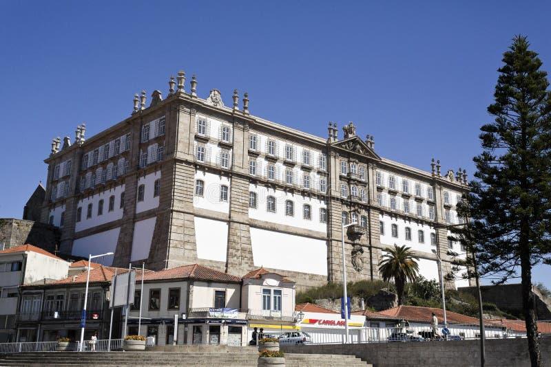 Kloster av Santa Clara arkivbilder