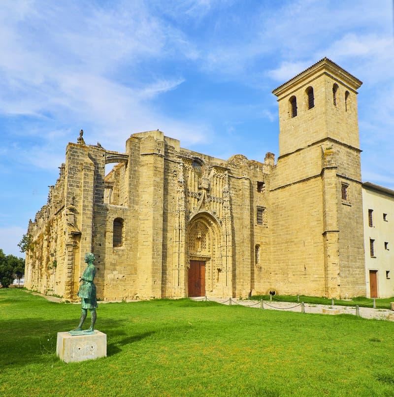 Kloster av segern Puerto de Santa Maria Andalusia Spanien fotografering för bildbyråer