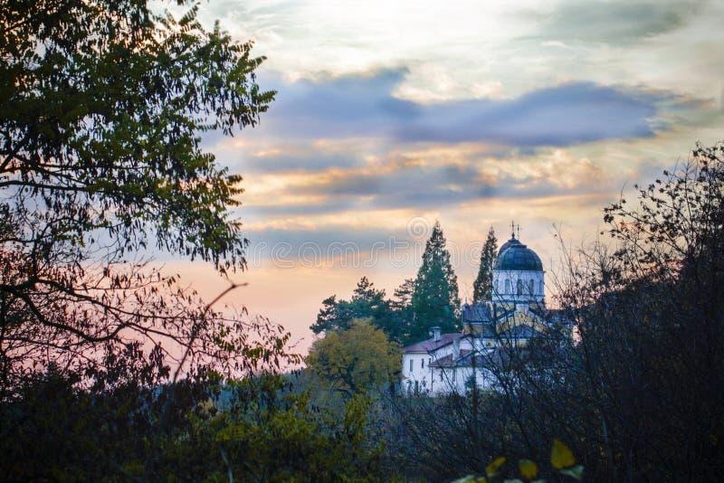 Kloster av St George fotografering för bildbyråer
