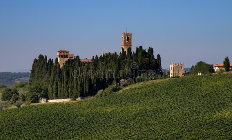 Kloster Badia ein Passignano lizenzfreies stockbild