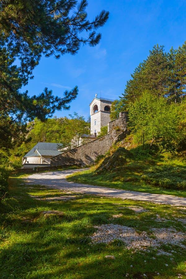 Kloster Cetinje - Montenegro lizenzfreie stockfotografie