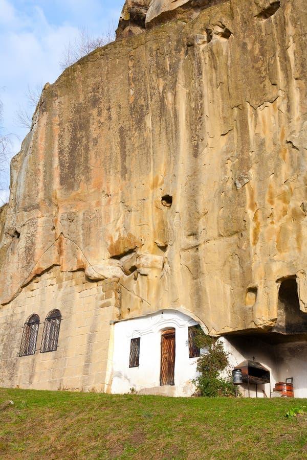 Kloster Corbiide Piatra stockbilder