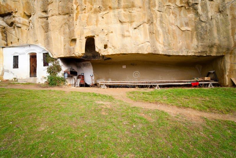 Kloster Corbiide Piatra lizenzfreie stockfotografie