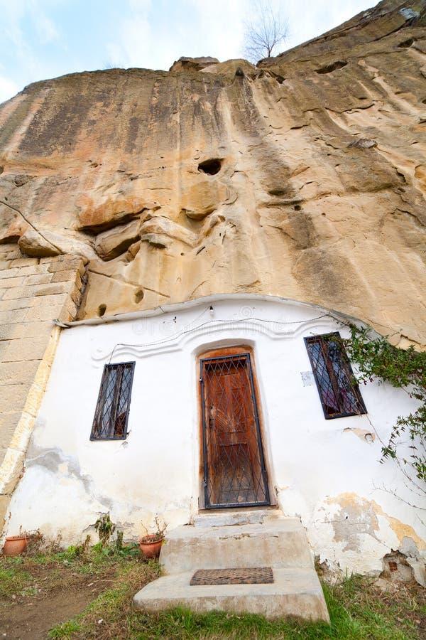 Kloster Corbiide Piatra stockfotos