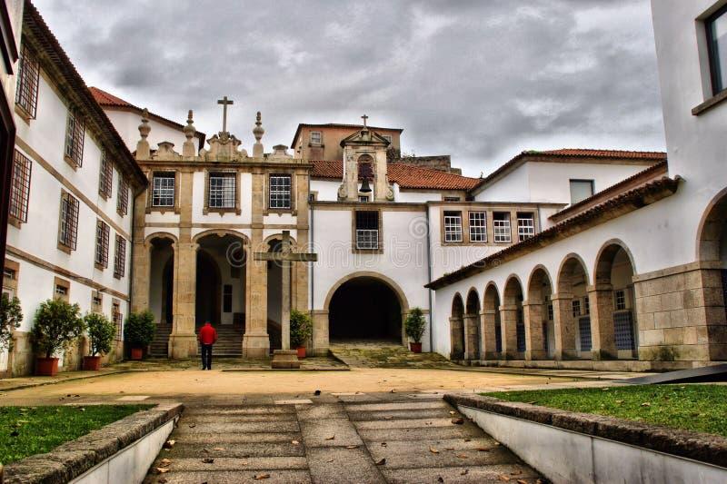 Kloster-Corpus Christi in Vila Nova de Gaia stockfotografie